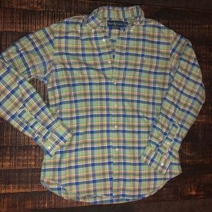 Men's Polo Short Sleeve Button Down